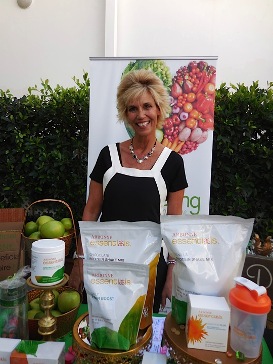 The lovely Kara Nanas from Arbonne