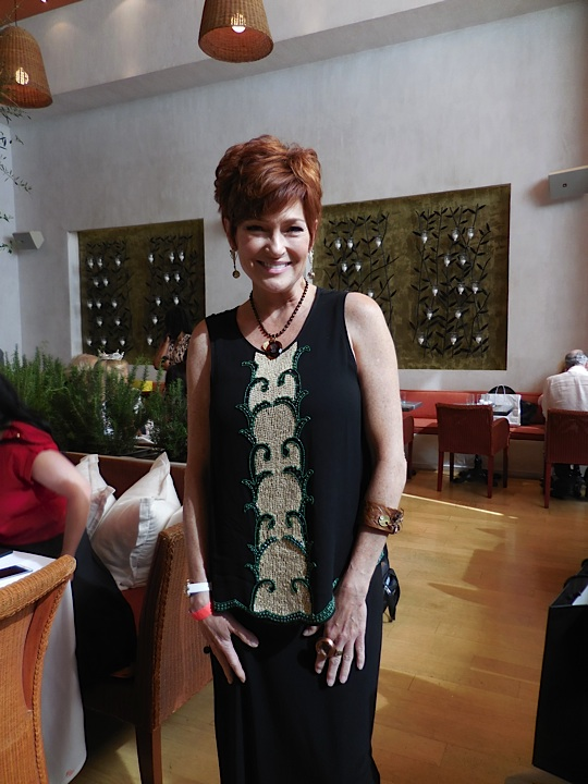 Actress Carolyn Hennesy is adorned Twisted Silver and Silvana K's beautiful jewelry lines