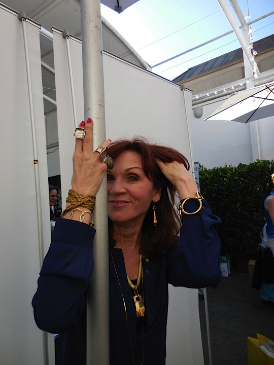 Werk it! Marilu Henner models twisted silver, one of my favorite jewelry lines