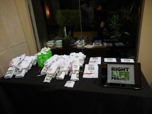 Right life project had some great products to get attendees' motived to tackle life's big issues