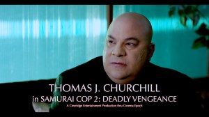Still of actor and award-winning filmmaker Thomas J. Churchill