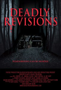 Deadly Revisions poster courtesy of Susan Bowen
