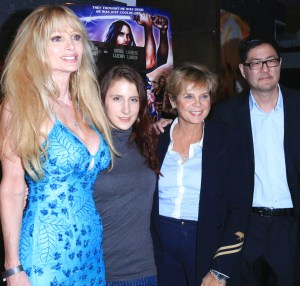 From left to right: Actresses Laurene Landon, Magda Marcella, Kristine DeBell and filmmaker Gregory Hatanaka. Photo courtesy of Bob Delgadillo/PR Photos.