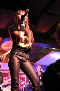 Gabbie Rae rocking the Ultimate Jam 44. Photo courtesy the Experience Magazine