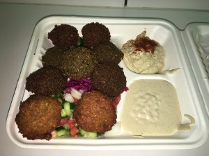 The Falafel Plate at Fala Bar
