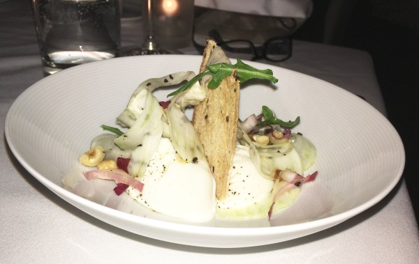 The Burrata was displayed with style and simplicity. All photos courtesy the Experience Magazine