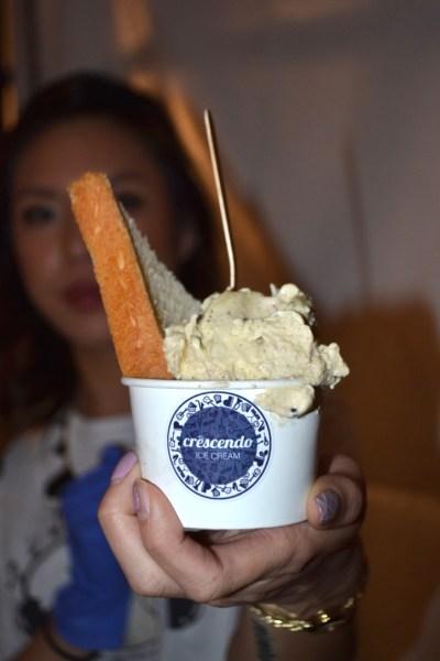 """Fabulous Designer Ice Cream """"Sandwiches"""" made by Crescendo Ice Cream"""