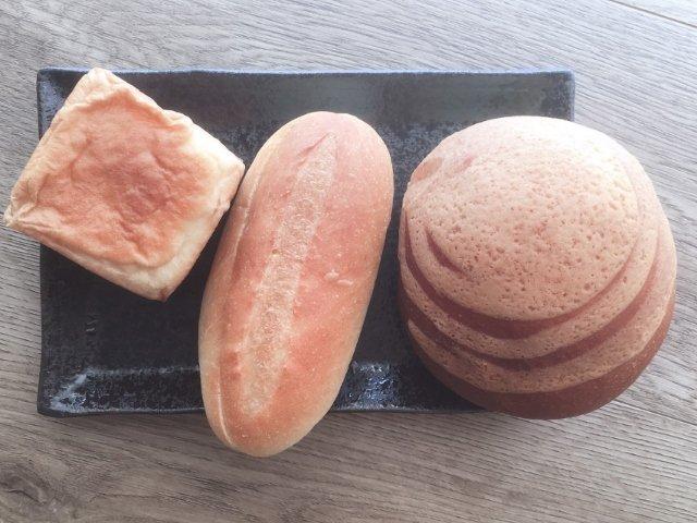 パン茶屋むぎまるで購入したパン