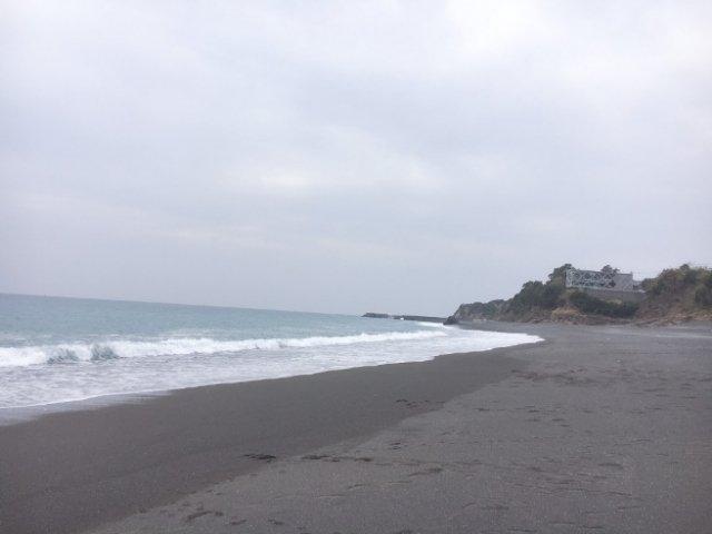 高知SEAHOUSE近くの海