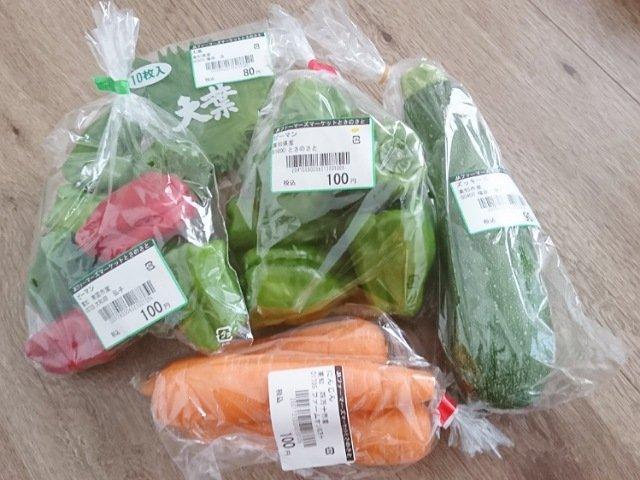 とさのさとで購入した野菜2