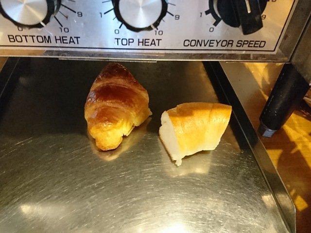 パンを焼く工程2