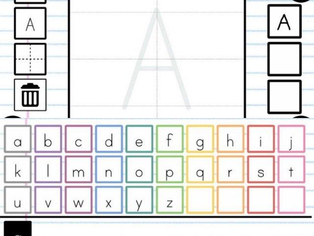 アプリ:アルファベットかこうよ!
