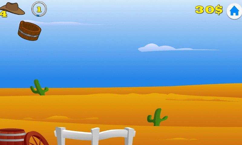 ゲームで学ぶ子供英語アプリ:ガンスリンガー