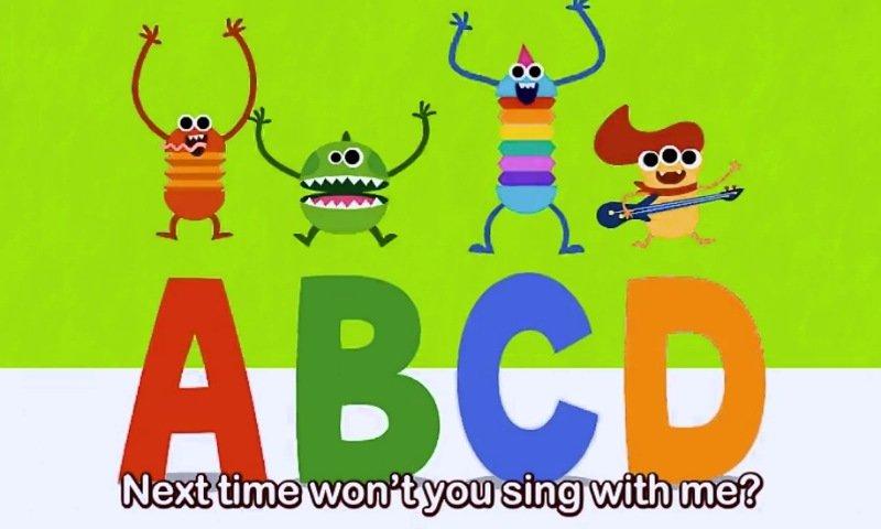 PINKFONGはじめてのなぞり書きアプリ:ABCの歌