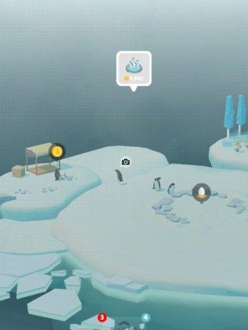 ペンギンの島プレイ画面