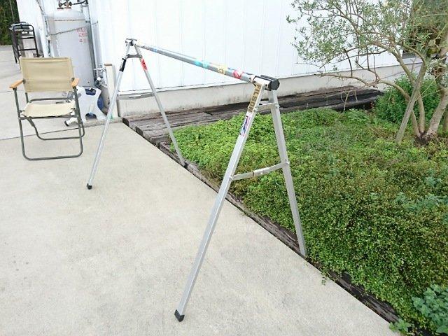 フジムラベーカリー:自転車用のスタンド