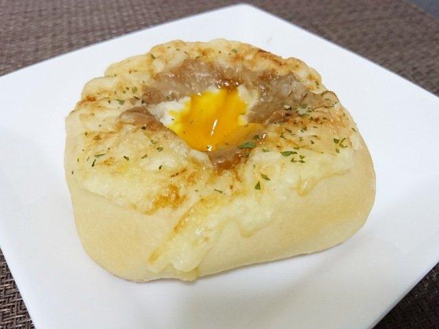 パン工房ランベリー:照り焼きチキンのお月見パン