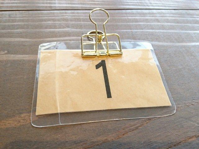 サンドイッチデリキッチンココ:番号札