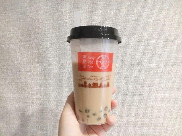 エコイート高知御座店:タピオカミルクティー2