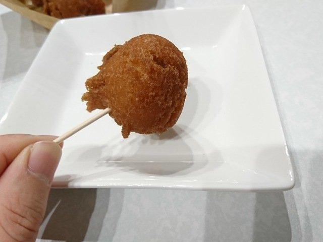 芋屋本舗高知店:いも天を食べる2