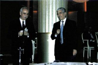 Ο Πρόεδρος της ΕΕΥΔ κ. Χρίστος Παπαγιάννης και ο κ. Χαράλαμπος Φρόνης