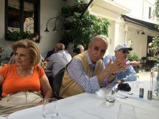 4η ημέρα (07.06.15) : Το αποχαιρετιστήριο γεύμα στην πλατεία του Μεσολογγίου