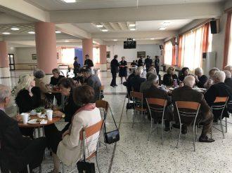 Δεξίωση στην αίθουσα εκδηλώσεων της ΣΣΑΣ