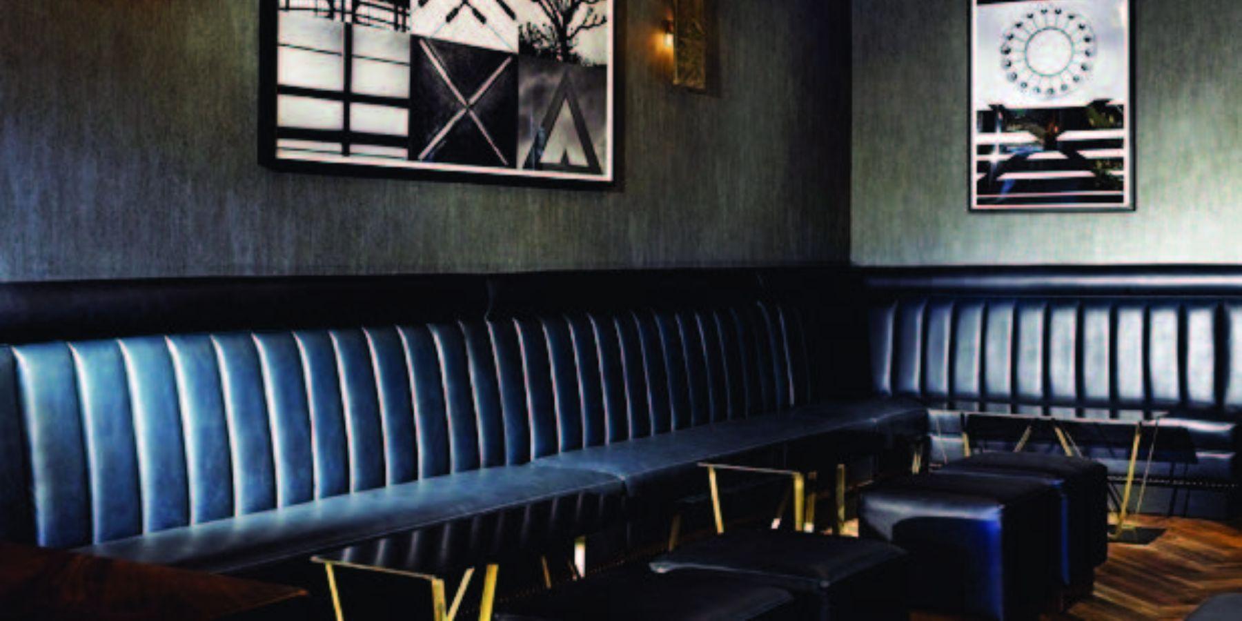 black dark imagery fixed seating