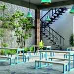 eezi greenery leisure seating area