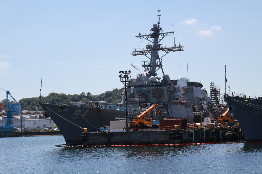 イージス艦 54 カーティスビルマー