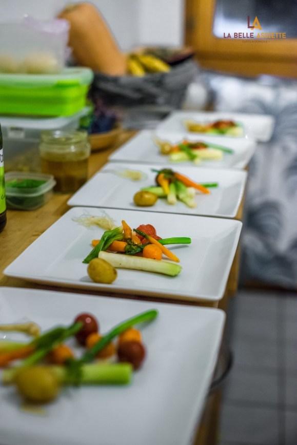 plats realises par un chef a domicile