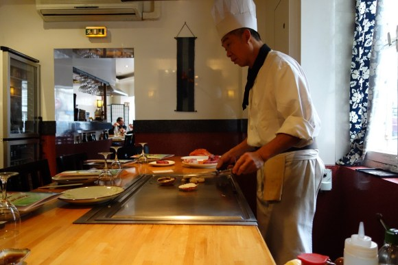 Restaurant japonais teppanyaki Kagayaki Paris