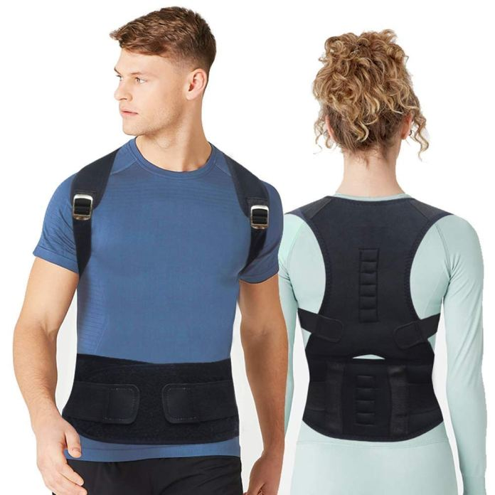 Optimum Magnetic Body Posture Corrector Belt