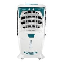 Crompton Ozone 55-Litres Desert Air Cooler with Honeycomb Pads(White/Turquoise)