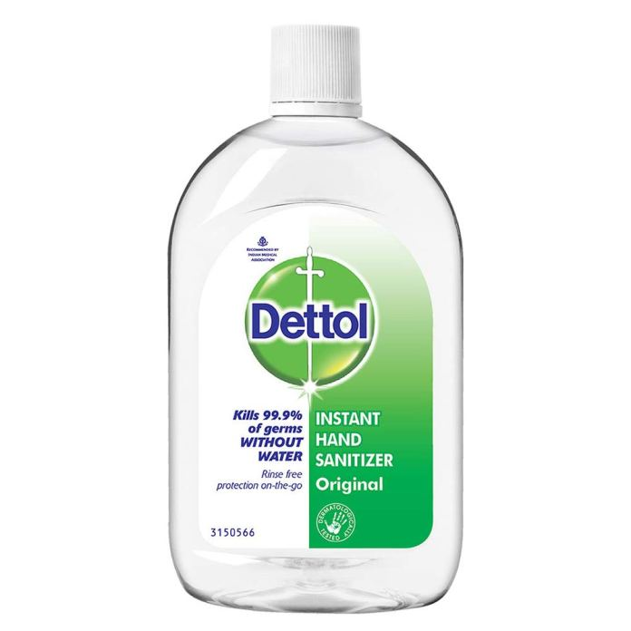 Dettol hand sanitizer online – 500ml