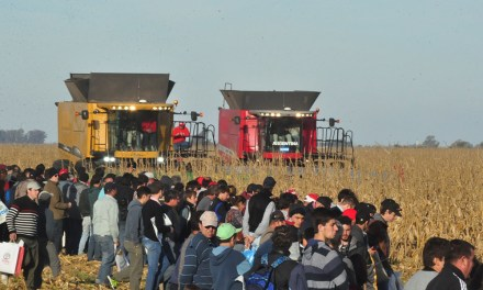 Sudden break of sales of farm equipment in the beginning of the year