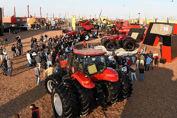 Sales of farm machinery in a dramatic decline this year
