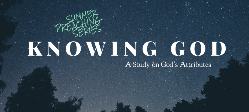 Knowing God:  Infinite