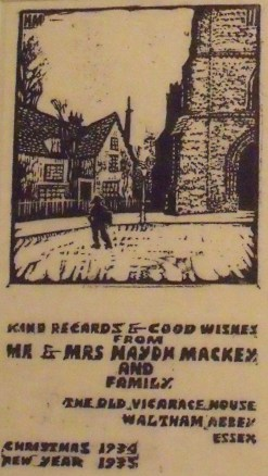 Mackey card proofs 1934-1935