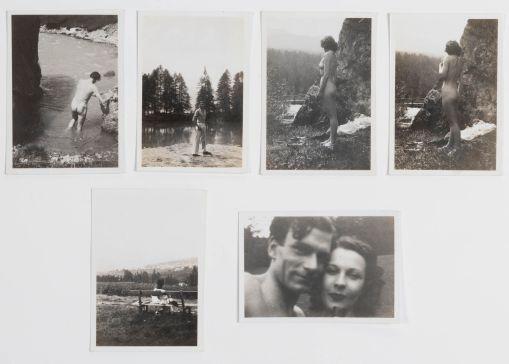 Conjunto de seis fotografías. Estados Unidos, 1940. / Autor: Setdart.com