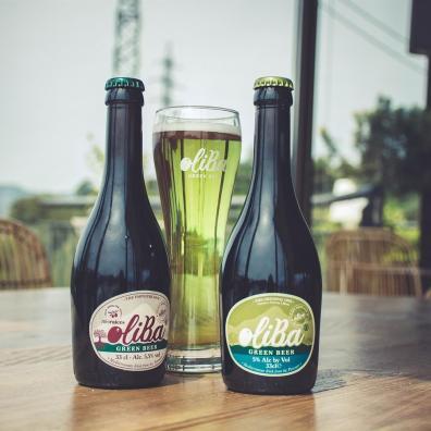 Dos variedades de OLIBA Green Beer / Autor: Judit Rivas Molins