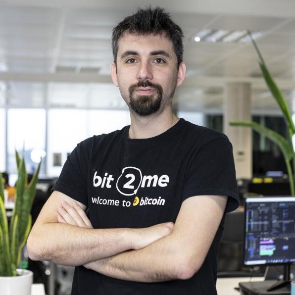 Leif Ferreira, CEO de la empresa española Bit2MeAutor: Bit2Me
