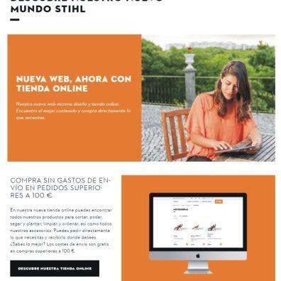 STIHL_ nueva tienda online / Autor: Stihl