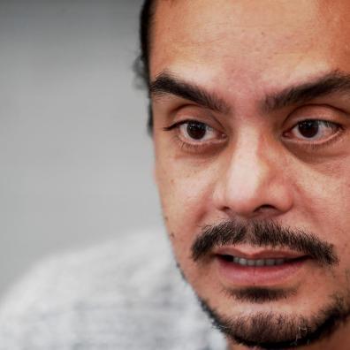 Jayro Bustamante, director de la película ' La Llorona', habla con Efe el 10 de agosto de 2021, en Ciudad de Guatemala (Guatemala). EFE/ Esteban Biba