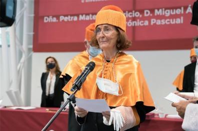 Petra Mateos-Aparicio.