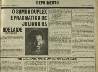 A entrevista de Julinho de Adelaide