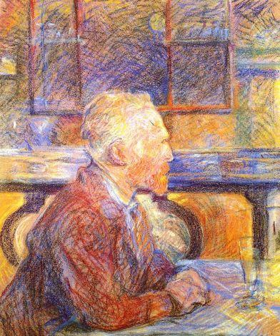 """""""Portrait of Vincent van Gogh"""" (1887)"""