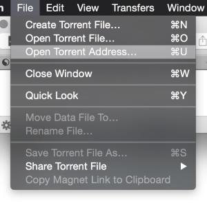 Menu-Open-Torrent-Address