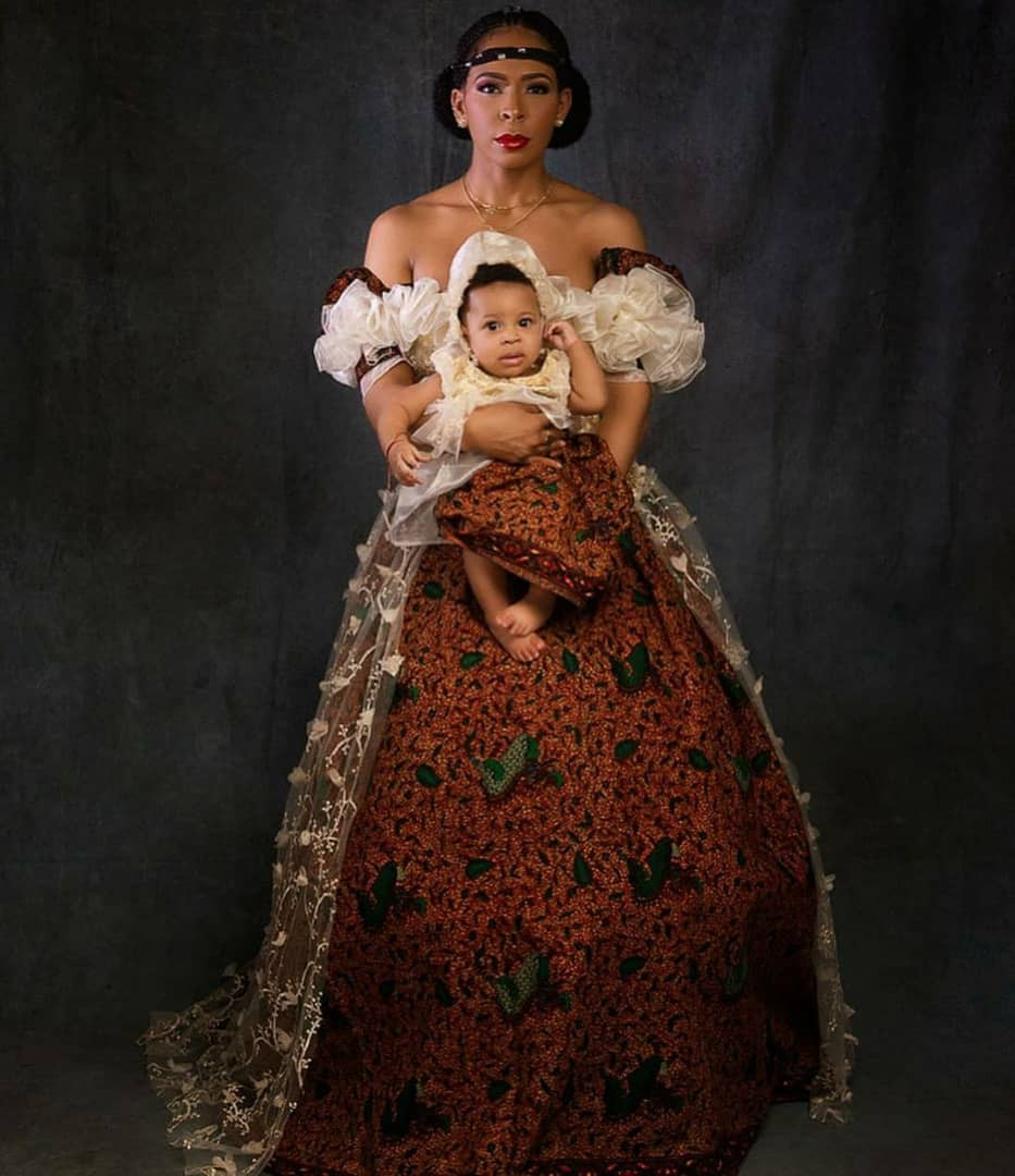 TBoss shares more beautiful photos of herself and her daughter