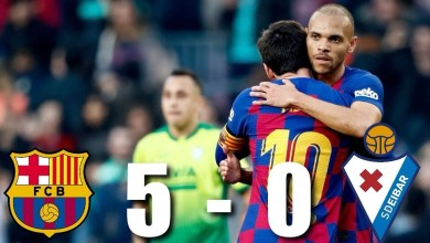 Image result for Highlights FC Barcelona vs SD Eibar (5-0)